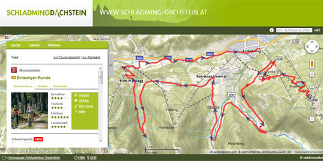 Mountainbike-Touren Schladming-Dachstein
